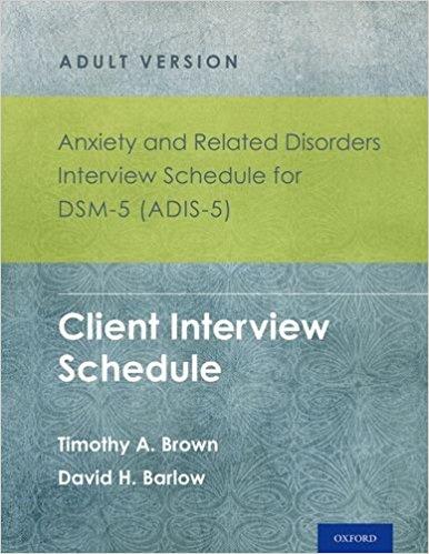 تشخيص الامراض النفسية للراشدين مستمدة من (dsm 4 & Dsm 5 ...