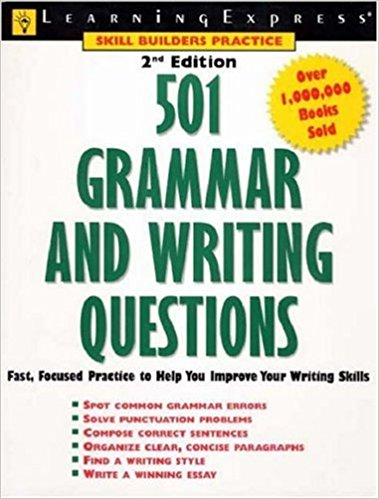 501 writing and grammar questions